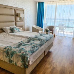 Двойна стая директне изглед към море Bilyana Beach Hotel Несебър твоята мечтана почивка на брега на морето